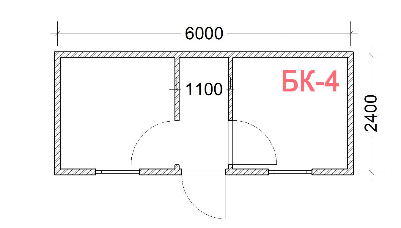 Блок Контейнер БК-