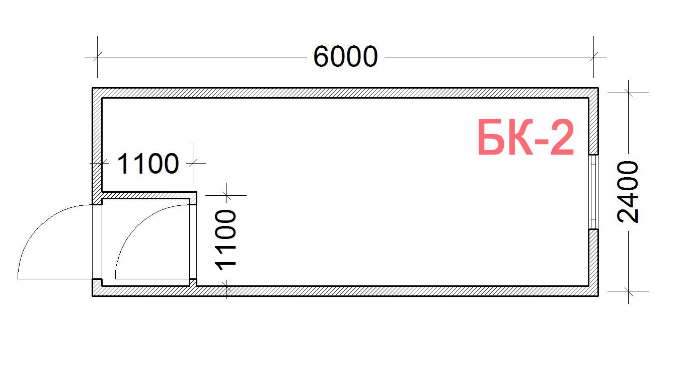 Блок Контейнер БК-2