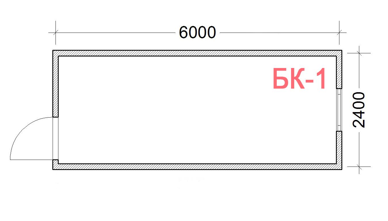 Блок Контейнер-1